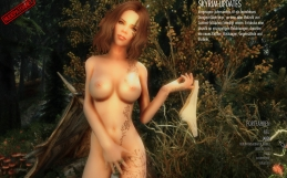 Skyrim – Danyca nude mod for main menu