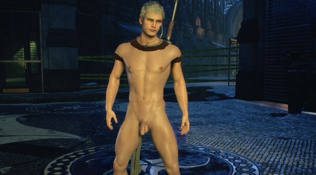Devil May Cry 5 – Nero Nude Patch
