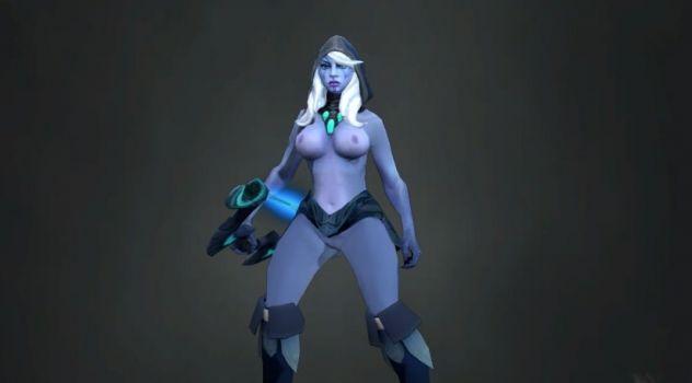 Dota 2: Drow Ranger nude patch
