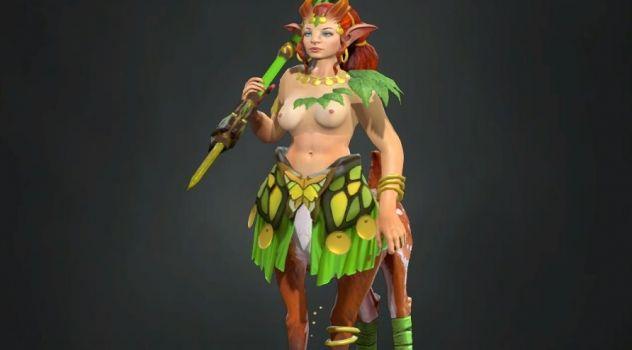 Dota 2: Enchantress nude mod