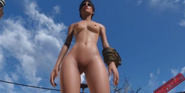 Fallout 4 CBBE female nude mod