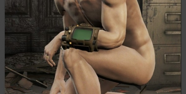 Fallout 4 Nude Male Cut Erect mod