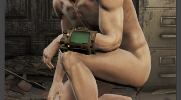 Fallout 4 Nude Male Cut Erect mod