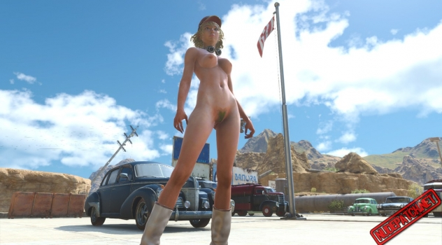 Final Fantasy XV – Cindy Nude Patch