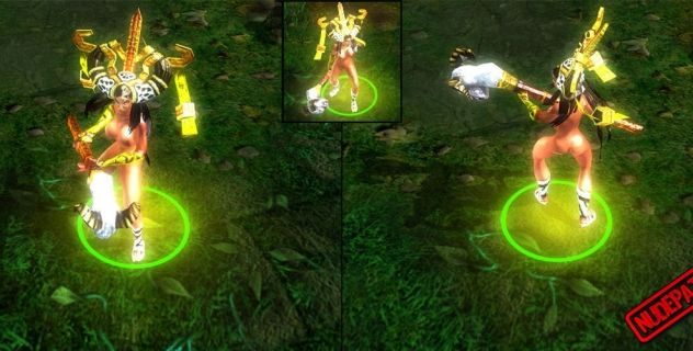 Heroes of Newerth: nude mod