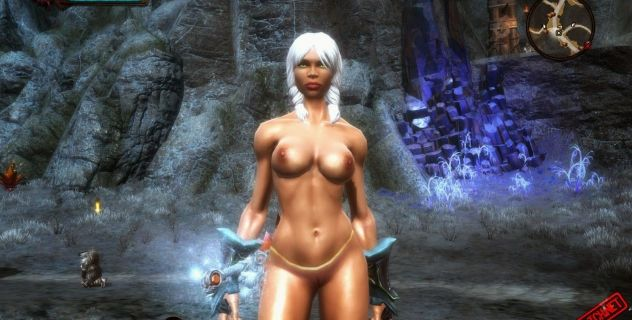 Kingdoms of Amalur: Sally nude