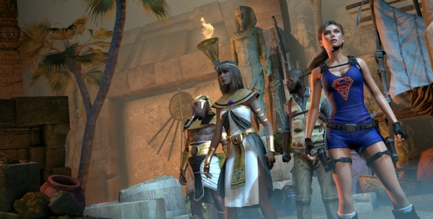 Lara Croft and the Temple of Osiris Super Lara mod