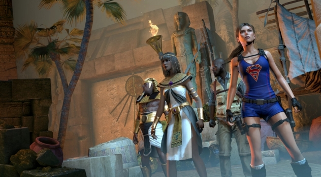 Lara Croft and the Temple of Osiris Super Lara mod