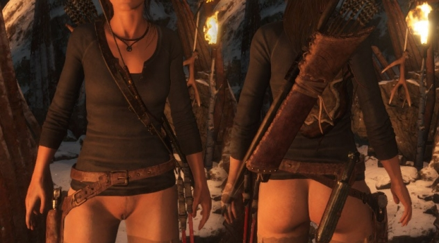 Rise of the Tomb Raider nude mod – Bottomless 1.0
