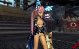 Blade and Soul nude mod for Lyn