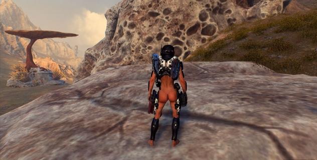 Mass Effect Andromeda Female Ryder Nude Mod
