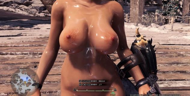 Monster Hunter: World Female Nude Skins