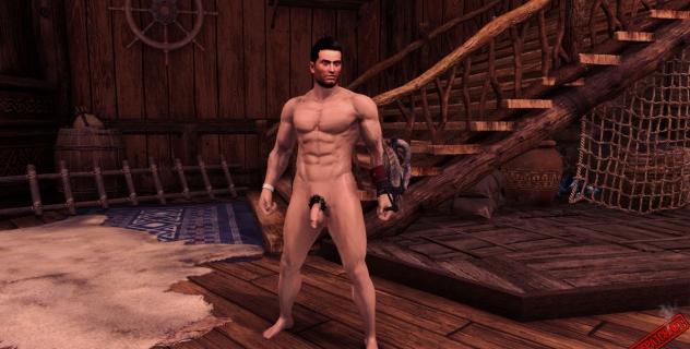 Monster Hunter: World Male Nude Mod For Diver
