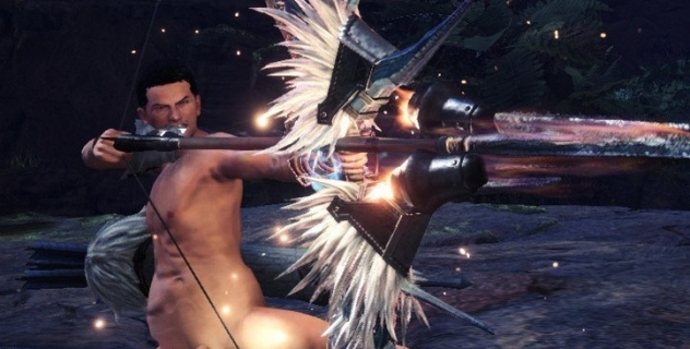 Monster Hunter: World Nude Male Mod For Brigade