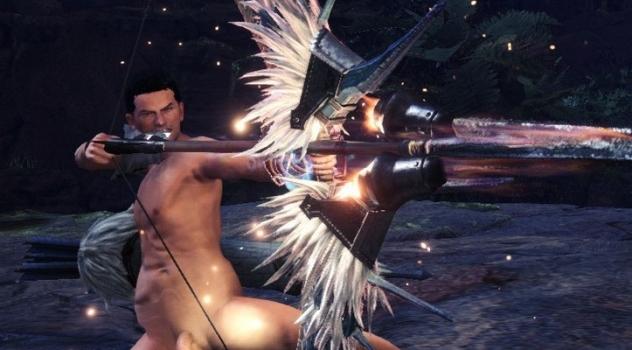 Monster Hunter: World Nude Male Mod For Brigade