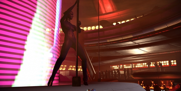 Mass Effect 2: Nude Dancers mod