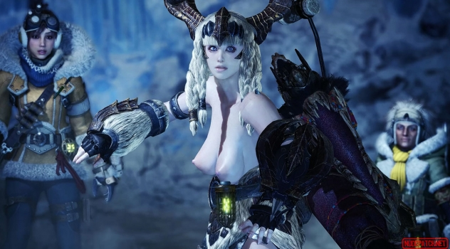 Monster Hunter: World Female Nude Mod