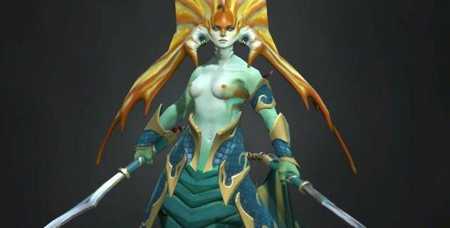 Dota 2: Naga Siren nude patch