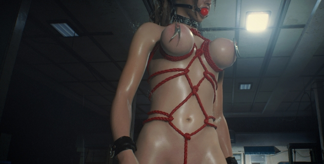 RE2R Claire BDSM Bounded mod