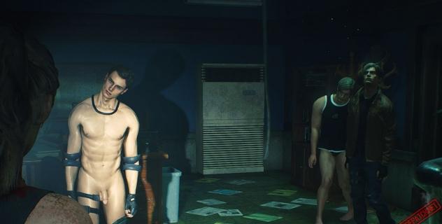 RE2R RACKoon City: Male zombies nude mod