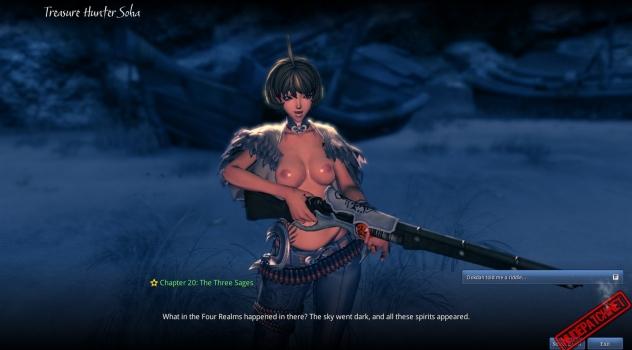 Blade and Soul: Soha nude skin