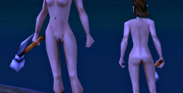 Spellforce nude mod