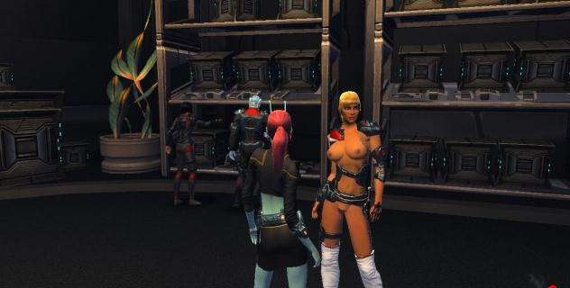 Star Trek Online nude patch