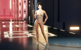 Star Wars Battlefront II (2017) Leia Nude Mod