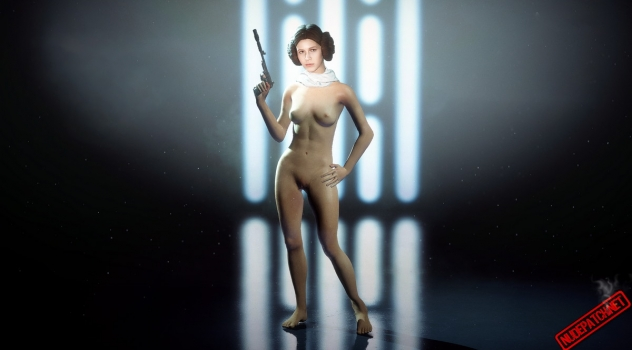 Star Wars Battlefront II – Nude Leia mod