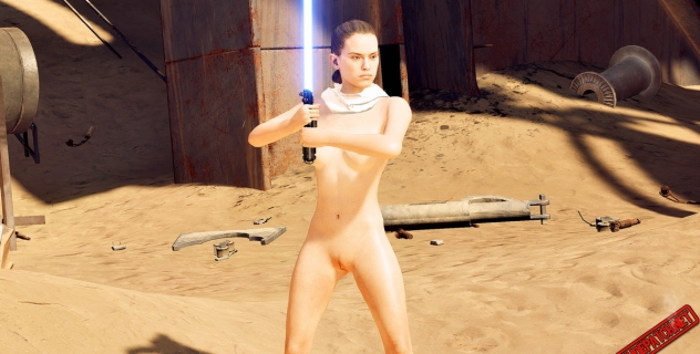 Star Wars Battlefront II – Nude Rey patch