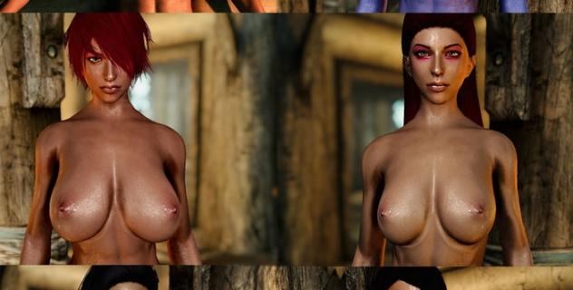Skyrim Special Edition – The Seductive Six Nude Mod