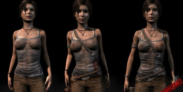 Tomb Raider Nude Patch – Tight, see-through and torn 0.9