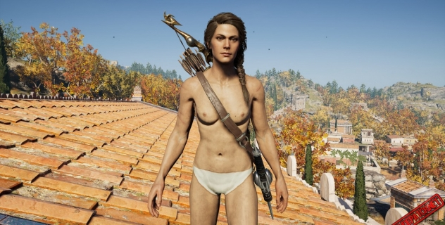 Assassin's Creed Odyssey: Kassandra Nude Patch