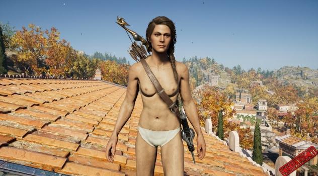 Assassin's Creed Odyssey: Kassandra Nude Patch