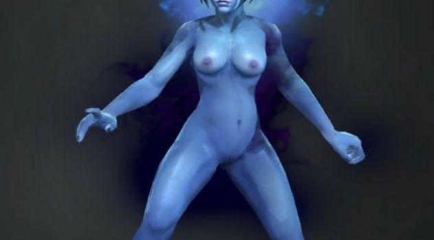 Dota 2: Vengeful Spirit nude skins