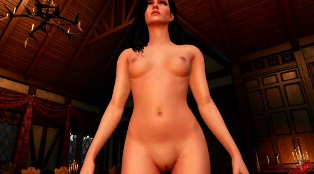 The Witcher 3 Nude female mod