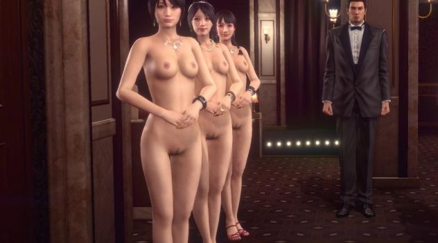 Yakuza Kiwami 2: Hostesses Nude Mod