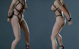 Resident Evil 2 Claire bondage nude mod
