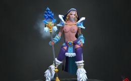 Dota 2: Crystal Maiden nude mod