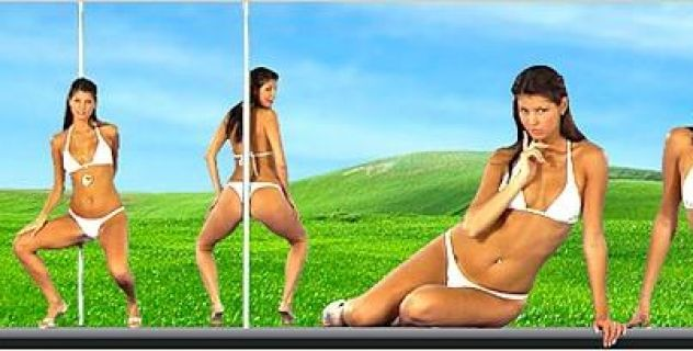 Lucky Bikini,  Desktop Nude Patch, Tatoos, Piercing