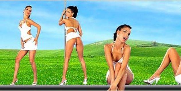 Virtual Girl Nella, desktop: Skimmed Milk..