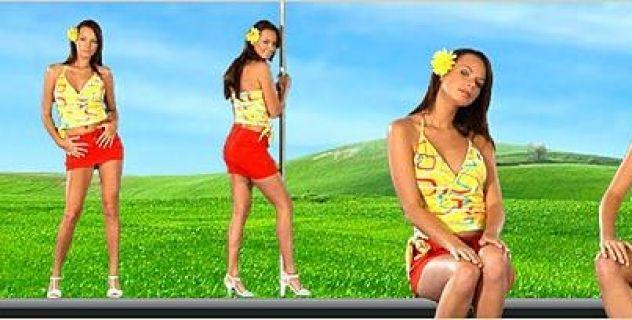 Mina Skirts, Virtual Girl