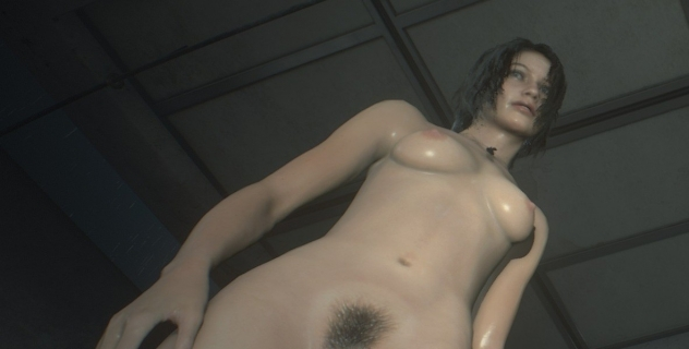Resident Evil 2 Claire Nude mod