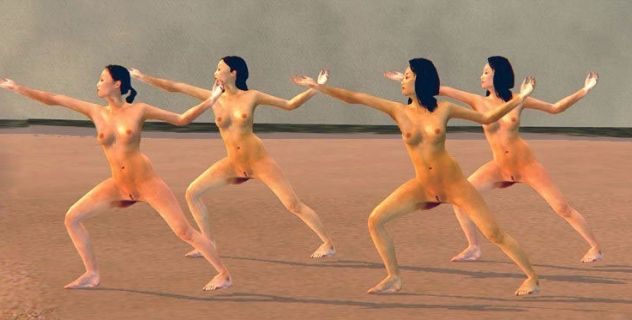 Saints Row 2: Female Nude Mod