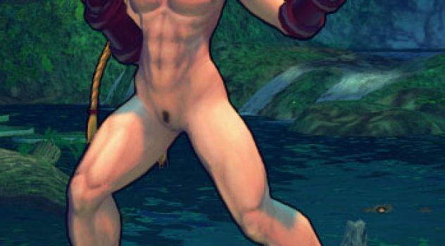 Super Street Fighter IV – Cammy nude Boobs