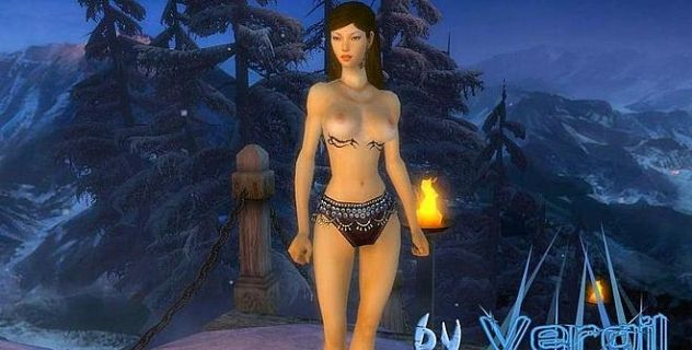 Guild Wars Ritualistin Topless