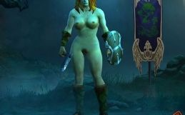 Diablo 3 Barbarian nude patch