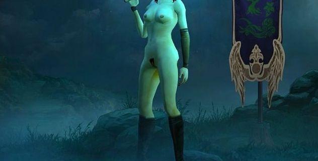 Diablo 3 nude patch Demon Hunter 5 in 1