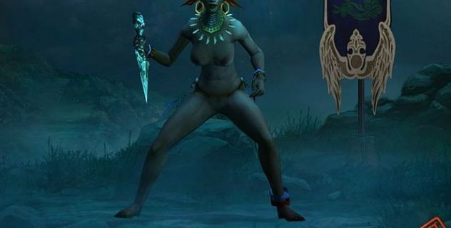 Diablo 3 – Witch Doctor nude