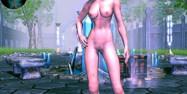 Sacred 2 nude mod Angel